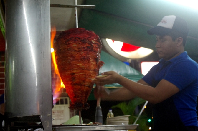 How to scrape the meat for el pastor tacos
