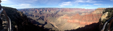 The Grand Canyon South Rim: a panorama of geological time