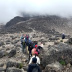 Kilimanjaro Day 3. Up Lava Tower, Down Baranco Camp